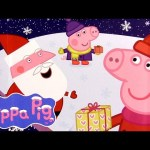 "Peppa Pig Christmas Chocolate Surprise with ""HO HO HO"" Magnet Nickelodeon Toys by Disney Collector"
