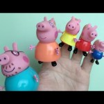 Peppa Pig Finger Family Nursery Rhymes