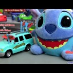 Pixar Tormentor biggest Fan Cars Toon diecast from Mater's Tall Tales Disney Mattel toys stitch