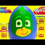 PJ Masks Gekko Play Doh Surprise Egg with Shopkins Season 5