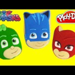 PJ Masks Microwave Play Doh Surprise Cookies