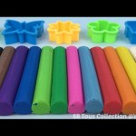 Play and Learn Colours with Plasticine Modelling Clay Fun & Creative for Children