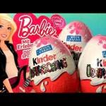 Play Doh Barbie Kinder Surprise Eggs Fashionistas Barbie Ballerina Limited Edition Chocolate Huevos