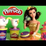 Play Doh Belle Royal Tea Party with Chip Mrs. Potts Set – Juego del Té Beauty and the Beast