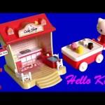 Play Doh Hello Kitty Cake Shop Playset  キャラクター練り切り ハローキティ Pastelería Pasticceria IceCream