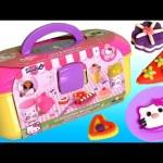 Play Doh Hello Kitty Pastry Shop Donuts Ice Cream Cupcakes La Pâtisserie Mallette  ハローキティ