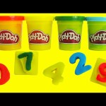 Play Doh LEARN Numbers and Colors