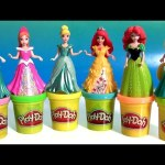 Play Doh Magiclip Cinderella Fairytale Set with Prince Charming Royal Carriage PlayDough Magic Clip
