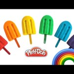 Play Doh Rainbow Dippin Dots Learn Colors Peppa Pig MLP LPS Shopkins RainbowLearning