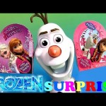 Play Doh Valentine's Day Surprise Boxes ❤ Disney Frozen Olaf-A-Lot Barbie MyLittlePony HelloKitty