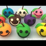 Play & Learn Colours with Playdough Apples Smiley Face Fun and Creative for Kids