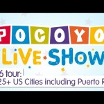 Pocoyo Live! – Buy your tickets for the 2016 tour! [+25 cities]