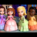 Princess Sofia and Friends Ruby Jade Disney Junior Channel Sofia the First with Princesa Amber