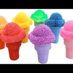 Rainbow Foam Clay Surprise Learn Colors Peppa Pig The Simpsons MLP Spongebob RainbowLearning