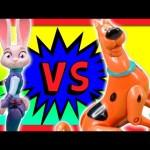 SCOOBY DOO! vs ZOOTOPIA Best Detective Hide And Go Seek Game TheEngineeringFamily Funny Kids Video