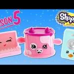 SEASON 5 SHOPKINS | Glow n Dark 12-Pack New Shopkin Toys | Bracelet Charms