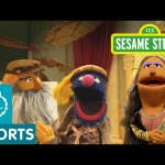 "Sesame Street: Leonardo da Crunchy's ""The Muncha Lisa"""