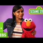 Sesame Street: Mindy Kaling and Elmo are Very Enthusiastic!