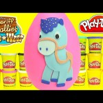 Sheriff Callie Play Doh Surprise Sparky Egg Learning Colors with Shopkins
