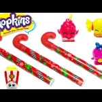 Shopkins Candy Canes with Shopkins Season 1 and Season 2