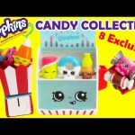 Shopkins CANDY COLLECTION Season 4 Food Fair Playset with 8 Exclusives