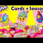 Shopkins Collector Cards with Season 3 Characters in Blind Bags