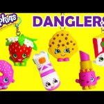 Shopkins Danglers with Kooky Cookie, Sneaky Wedge, Lippy Lips and More