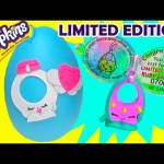 Shopkins Limited Edition Ruby Earring Find and Ring a Rosie Play Doh Surprise Egg