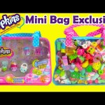 Shopkins Mini Bags with 12 Exclusives