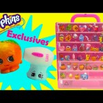 Shopkins Season 4 PINK Storage Case with 2 Exclusives