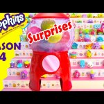 Shopkins Season 4 Sweet Spot Gumball Surprises and Limited Edition Hunt