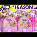 Shopkins SEASON 5 12 Packs and 5 Packs with ELECTRIC GLOW