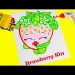 Shopkins Strawberry Kiss with DohVinci