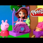Sofia the First Garden Adventure Play Doh Magic Talking Castle Princesa Sofía Aventura en el Jardín