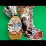 Star Wars Party!  Opening a HUGE GIANT JUMBO Star Wars Surprise Egg and Christmas Stocking!