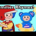 Summer Rhymes! | Nursery Rhymes from Mother Goose Club!