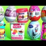 Surprise Bubble Guppies Stacking Cups Kinder Eggs My Little Pony NUM NOMS Frozen Shopkins Mashems