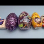 Surprise Egg Candy Party!  Opening Candy Filled Surprise Eggs!