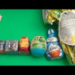 Surprise Eggs Learn Sizes from Smallest to Biggest! Opening Eggs with Toys, Candy and Fun! Part 21