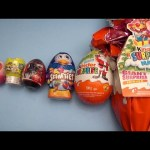 Surprise Eggs Learn Sizes from Smallest to Biggest! Opening Eggs with Toys, Candy and Fun! Part 6