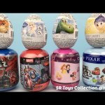 Surprise Toy Zootopia Disney Frozen Inside Out The Good Dinosaur Marvel Avengers Justice League Eggs