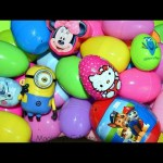 Surprises  EGGS Minions Hello kitty Paw Patrol Frozen Minnie Mouse Zootopia Dory Egg surprises toys