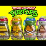 Teenage Mutant Ninja Turtles Bath Soaps and Surprises with Shopkins