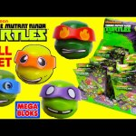 Teenage Mutant Ninja Turtles Mega Bloks Blind Bags Series 1 Full Set Buildable