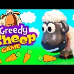 THE GREEDY SHEEP Board Game Challenge Fun Kids Game Family Fun Night Activity by DisneyCarToys
