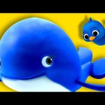 The Little Blue Whale | Nursery Rhymes | Original Song By LittleBabyBum!