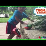 THOMAS AND FRIENDS Accidents will Happen Playtime at the Park Thomas the Tank Engine Ryan ToysReview