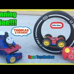 Thomas and Friends Remote Control Toys Train Turbo Flip Thomas Rc Cars Tire Twister Ryan ToysReview