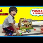 Thomas and Friends Trackmaster Volcano Drop Unboxing Playtime with Minions Ryan ToysReview