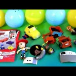 Tomy Surprise Eggs Disney Pixar Toy Story 3 Mater, Woody, Jessie, Luigi Cars Buildable Figures